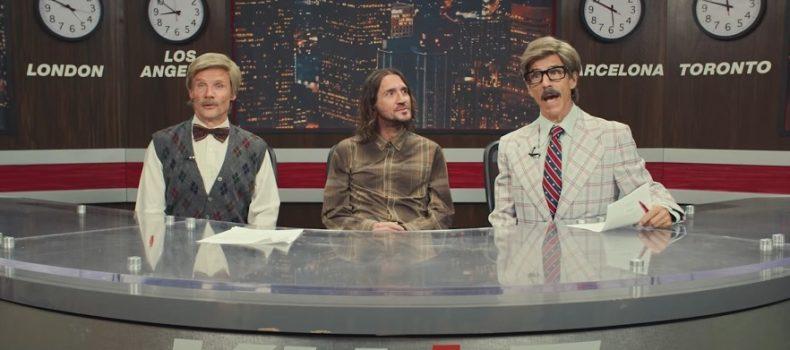 Red Hot Chili Peppers anuncia turnê mundial em 2022 com John Frusciante